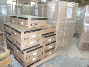 Упакованные термошкафы 1