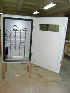 Щит шкафной приборный с оборудованием КИПиА 1