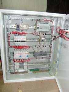 1 - шкаф управления электрообогревом ШПУ 4